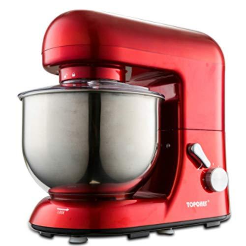 QWERTOUY 7 L roestvrijstalen kom keuken 6 speed-elektrische kneedmachine kantelkop en kookgerei mixer machine