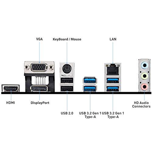 MSI B550M PRO Scheda madre (AMD Ryzen 3000 3rd Gen AM4, DDR4, M.2, USB 3.2 Gen 1, DP, HDMI, Micro ATX)
