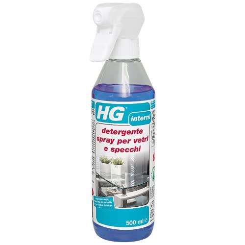 HG detergente spray per vetri e specchi - 500 ml