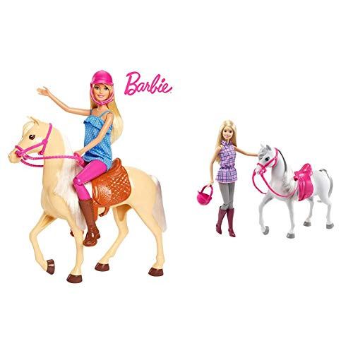 Barbie Doll and Horse & Doll & Horse