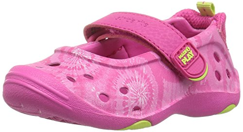 Stride Rite Made 2 Play Phibian Mary Jane Water Shoe (Toddler/Little Kid), Pink, 12 M US Little Kid