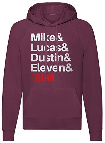 LaMAGLIERIA Sudadera Unisex Mike & Lucas & Dustin & Eleven & Will...