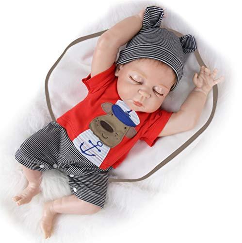 Bebé Reborn niño durmiendo - 45 cm