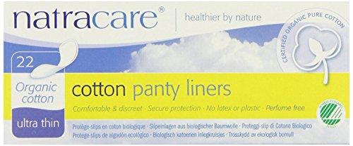 4 stuks Natracare Ultra Dunne Organische Katoenen Panty Liners - 22 Pack van Natracare