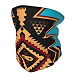 Niños Headwear Cara Bufanda Cuello Polaina Nativo Americano Indio Azteca Navajo Niños Diadema Niños Niñas