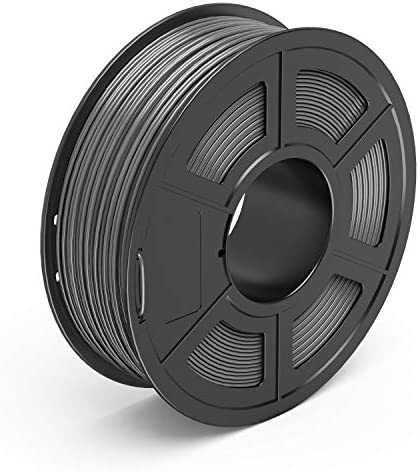 TECBEARS PETG 3D Printer Filament 1 75mm Gray Dimensional Accuracy 0 02 mm 1 Kg Spool Pack of product image