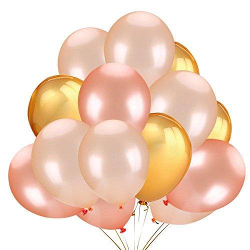 Dango Luftballons 50 Dekorationen Ballons Latex Luftballon, Partyballon, Farbige Ballons, Latex Party Ballon Hochzeit, Geburtstag, Brautdusche, Baby-Dusche, Party Dekoration, Valentinstag Dekoration