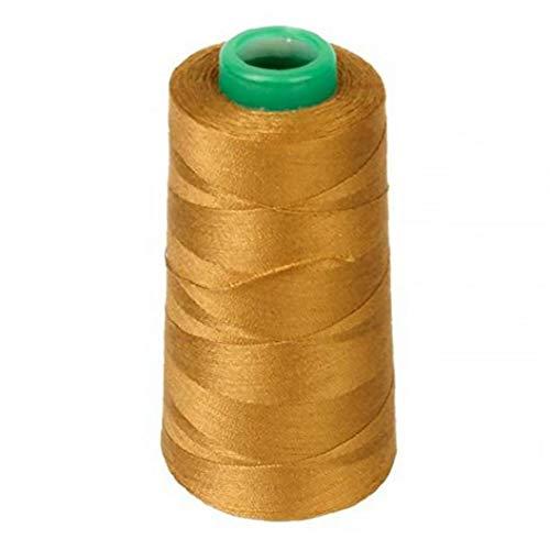 ruiting Poliéster de Costura del Hilo de Oro 3000 Yardas 40/2 acolchar Costura Suministro línea de Costura Máquina de Coser Hilo Decoración