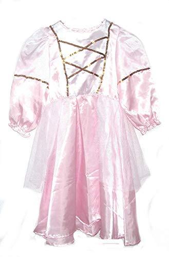 FKW Keller Prinzessin Kinder Kostüm Faschingskostüm Fasching Karneval-Karnelvalskostüm Kinderkostüm (128)
