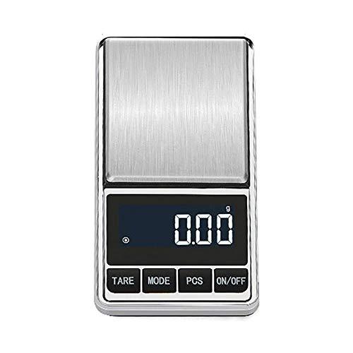 hehuanxiao Digitale Küchenwaage 200g tragbare Gewichtswaage mit hoher Genauigkeit Mini-Waage mit elektronischer Waage Digitale Tasche Küchenschmuckwaage Waage