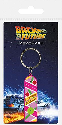 1art1 Zurück In Die Zukunft - Hoverboard Fan-Schlüsselanhänger 6 x 4 cm