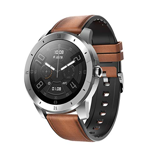 ZGNB MX12 1.3 Pulgadas Player Full Touch Reproductor Bluetooth Llamada Smartwatch IP68 IP68 Impermeable Monitor De Ritmo Cardíaco Modo Multi-Deportes Pulsera Inteligente para Android iOS,D