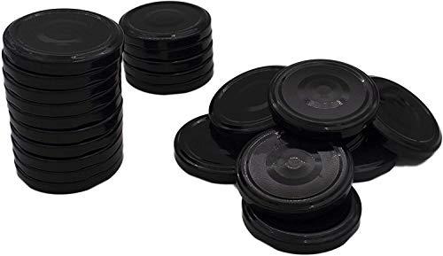 Rekean - Tapa para maceta de cristal tipo mermelada – a tornillo – (diámetro: 70)