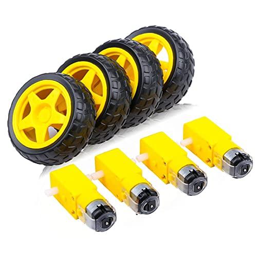 4pc DC Motor eléctrico con juguete de plástico...