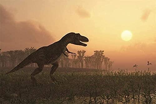 Houten puzzels 1000 stukjes, legpuzzel dinosaurus volwassen kinderen educatief intellectueel decomprimerend puzzelspel