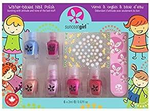 Suncoat Girl | Mini Mani Kit De Manucure A L'eau Pour Enfants