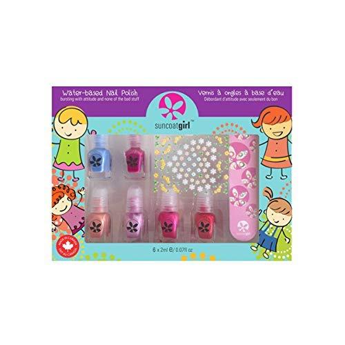 Suncoat Girl Mini Mani Kit de manicura para niños