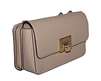 MICHAEL Michael Kors Tina Women's Wallet Clutch Xbody Shoulder Leather Double Bag