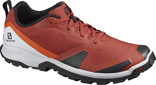 Salomon XA COLLIDER, Zapatillas de Trail Running para Hombre, Color: Rojo (Red Ochre/Black/Cherry Tomato), 45 1/3 EU