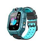Kids Smart Watches for Girls Boys with GPS Tracker SOS Call Alarm Clock Camera Touch Screen Sport Intelligent Smart Watch HD Spy Safety Phone Watch for over 3+ Years Kid Birthday Gift (Green)