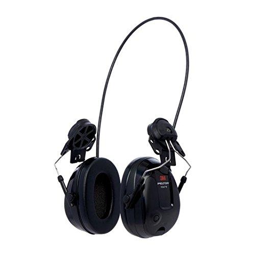 3M Peltor MT13H220P3E ProTac III Slim Gehörschutz-Headset, Helmversion, Schwarz