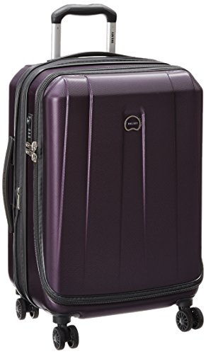 """DELSEY Paris Helium Shadow 3.0 21"""" Carry-on Exp. Spinner Suiter Trolley, Purple, One Size"""