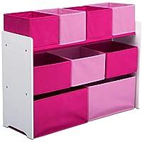 Delta Children Deluxe Multi-Bin Toy Organizer with Storage Bins