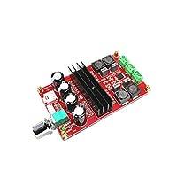 TPA3116D2 2x100W 2チャンネルデジタルアンプオーディオボード12-24V DIYモジュールDC電源2チャンネル高出力および低発熱