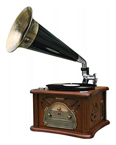 Roadstar Tocadiscos retro 'hif1850tumpk CD/Tape/USB madera