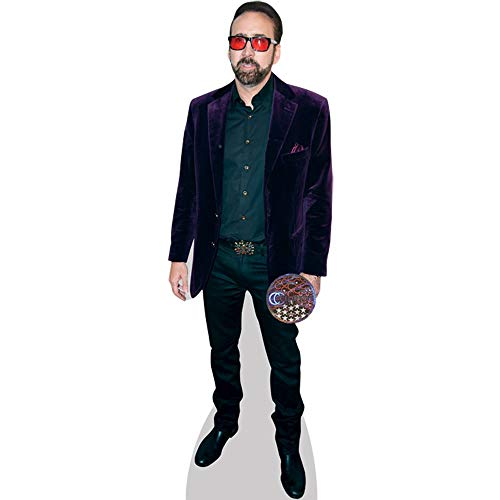 Nicolas Cage (Purple Blazer) Mini Cutout