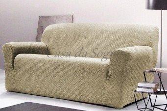 Copridivano Gabel Poncho Roma Duo Terra - Copridivano 2 posti (divano da 110 a 180 cm) - divGabel24