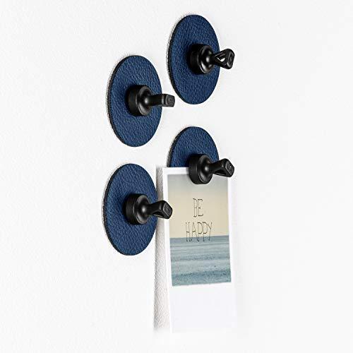 silwy Magnet-Pins mit Metall-Nano-Gel-Pads, wiederverwendbar, flexibel einsetzbar, Keine Kleberückstände, perfekt für Notizen, Karten und Poster