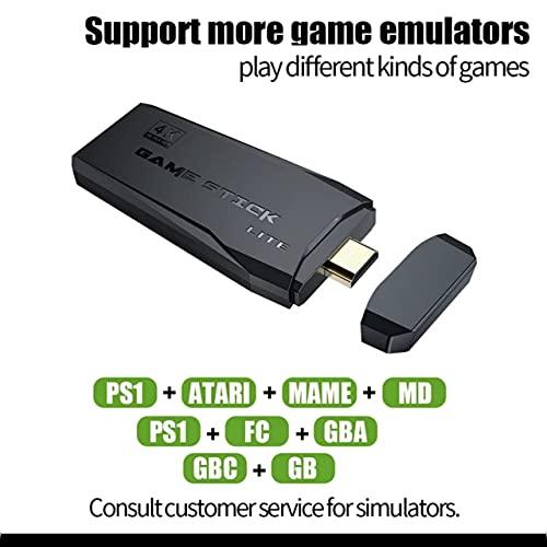 Video Game Stick Lite 10mil Jogos Retro 2 Controles Sem Fio