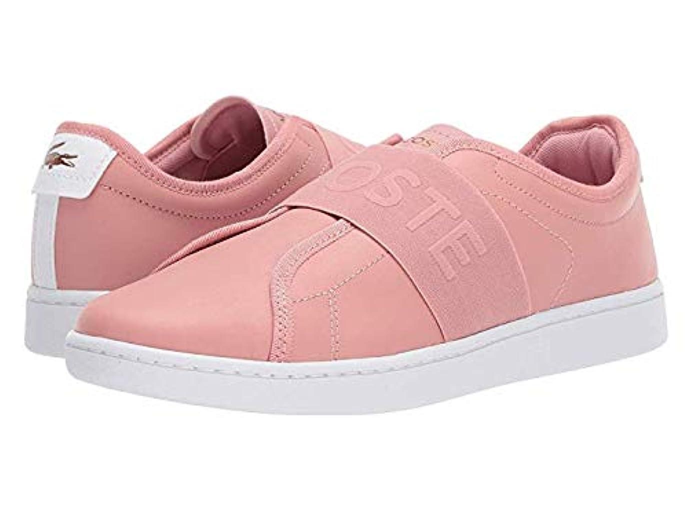 [ラコステ] レディーススニーカー?靴?シューズ Carnaby Evo Slip 318 1 Pink/White US 9.5 (26.5cm) M [並行輸入品]