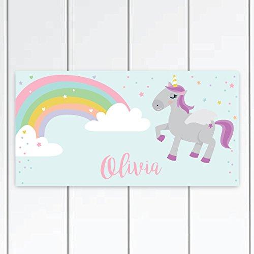 Personalised Name Plaque Door Bedroom Sign Girls Baby Room