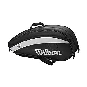41IsZNREIhL. SS300  - Wilson Bolsa para Raquetas de Tenis, Fed Team