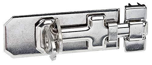 GAH-ALBERTS 327002 Cerrojo de seguridad porta-candados, Material: Edelstahl, 100 x 40 mm