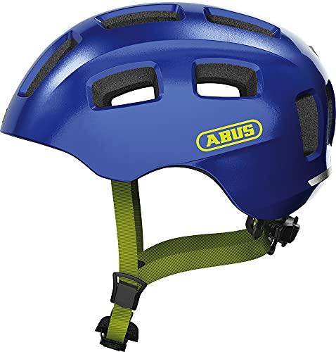 ABUS Youn-I 2.0 Helm Jugend Sparkling Blue Kopfumfang M   52-57cm 2021 Fahrradhelm