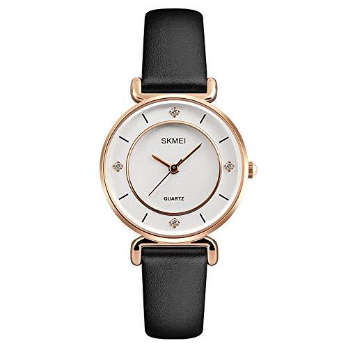 YIBOKANG Pareja Creativa Agua Taladro Impermeable Reloj De Cuarzo Hombres Y Mujeres Personalidad Regalo Casual Reloj De Moda (Color : 6)