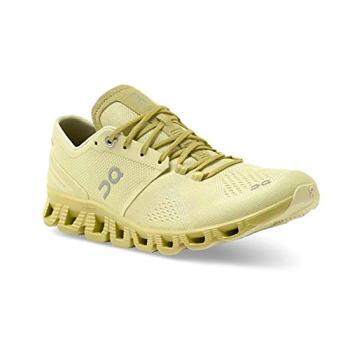On Running W Cloud X Gelb, Damen Laufschuh, Größe EU 42 - Farbe Glade - Citron