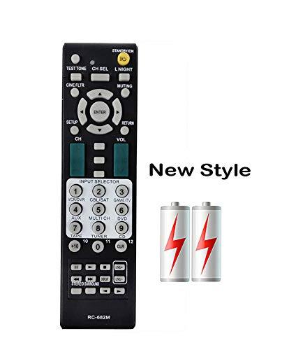 PROROK New Remote Control Compatible for Onkyo A/V Receiver RC-606S RC-607M RC-608M RC-646M RC-649M RC-650M RC-651M RC-681M HT-R340 HT-R530 HT-R540 HT-R550 HT-R550S HT-R557 HT-SR600 HT-SR800