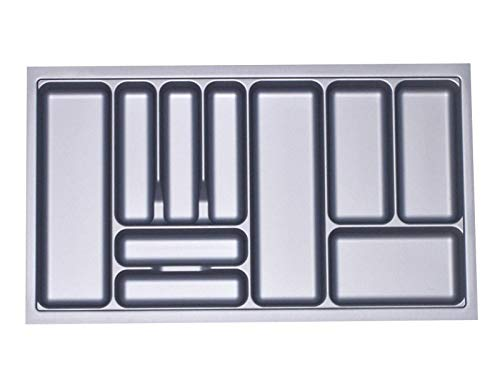 Orga-Box® Cubertero 817 x 474 mm de Blum Tandembox + SO-Tech Modernbox
