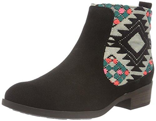 Desigual Damen Black Indian Boho Chelsea Boots, Schwarz (Negro 2000), 37 EU