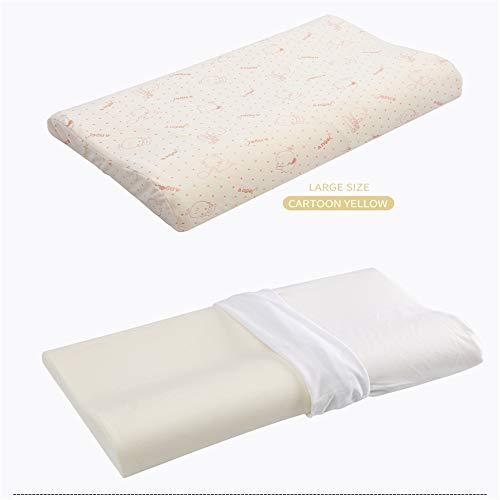 TBBA Baby Kussenhoezen voor het voorkomen en genezen van plat hoofdsyndroom in Memory Foam Anti-Suffocation