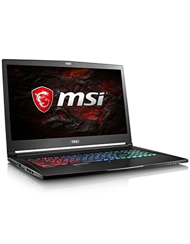 MSI GS73VR 7RG-012FR Stealth Pro 4K Ordinateur Portable Hybride 17,3' Noir (Intel Core i7, 16 Go de RAM, 2 to, GeForce GTX 1070, 8 Go GDDR5, Windows 10 Home)