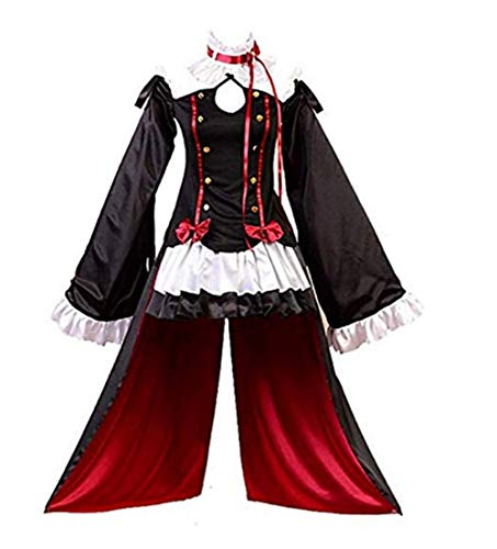 Krul Tepes Dress Anime Vampires Cosplay Lolita Maid Outfit Disfraz de Halloween