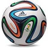 2014ブラジルワールドカップFIFA(国際サッカー連盟) アディダス ブラズーカ 公式試合用ボール サッカー フットボール (標準サイズ)