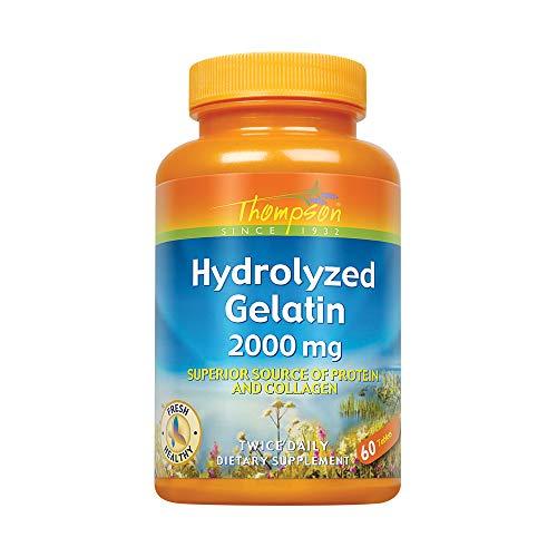 THOMPSON NUTRITIONAL PRODUCTS Hydrolyzed Gelatin 2000mg 60 TAB