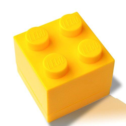 LEGO® Mini Box (gelb) Schmuck Aufbewahrung Geschenkbox Geschenk Neuheit