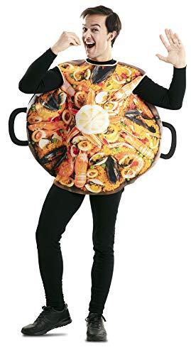 EUROCARNAVALES Disfraz de Paella para Adulto Talla M/L